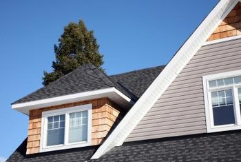 Roof flashings must be properly installed to keep water from getting into the walls and causing damage.