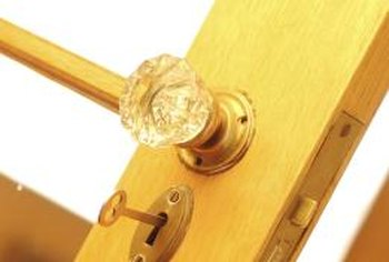 How to fix a door knob that wont open