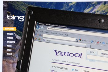Filing a complaint with Yahoo removes search results that violate your intellectual property.