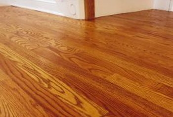 Oak flooring makes a room feel bright and open.