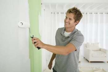 Begin with a white wall to brighten the clear color of your top glaze.