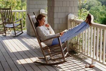 Make your rocking chair even comfier with a padded cover set.