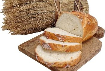 Eating gluten may cause bloating if you have celiac disease.