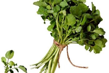 Raw watercress contains just 4 calories per cup.