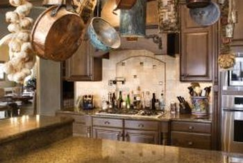Decorate a Tuscan-style kitchen with Old-World visual appeal.