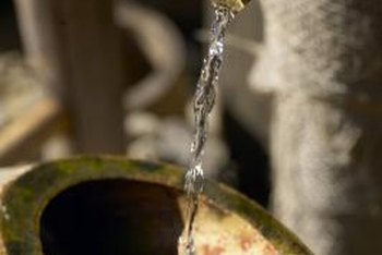 Spar varnish gives your fountain lasting protection from water damage.