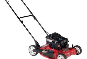Most push lawn mowers come with side discharge capabilities.