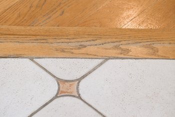 Transition strips bridge the gap between different types of flooring.