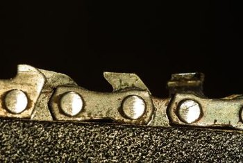 Three measurements determine the proper chainsaw chain to use.