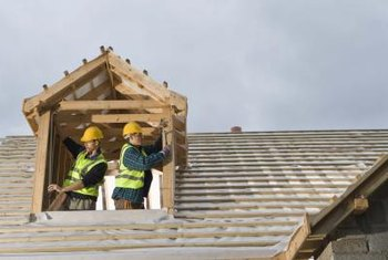 Rebuilding a roof may be necessary in extreme situations.