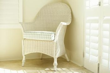 Keep your wicker away from moisture and dank conditions to prevent musty odors.