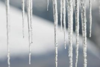 Icicles may cause structural damage to your home.