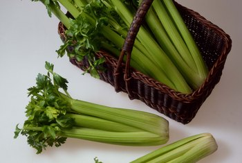 Celery takes a long time to grow, but is worth the wait.