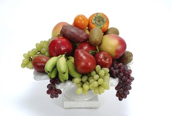 Fiber in fruits and vegetables helps carry toxins out of your body.