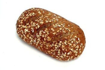 Whole-wheat bread is a healthy source of carbohydrates.