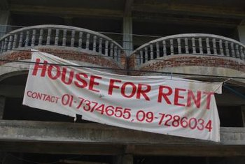 Well-tended houses attract more renters.