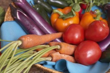 Carrots, sweet potatoes and spinach are top sources of beta-carotene.