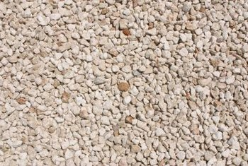 You can use river pebbles to fill in spaces in the landscape.
