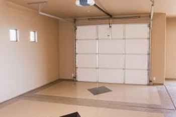 Replacing the fall and finishing the walls can transform the look of your garage.