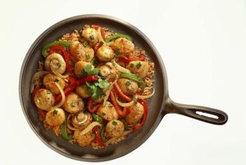 Cast iron's magnetic properties make it suitable for induction cooking.