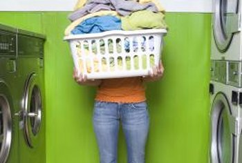 Use up to 3 tbsp. of homemade detergent to wash an oversized load of laundry.