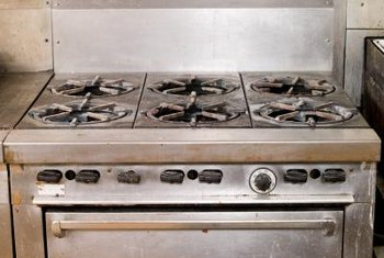 Safety valves ensure a gas range's oven won't come on without ignition.
