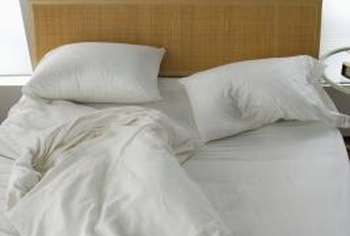 Straighten and fluff the comforter each morning to maintain its volume.