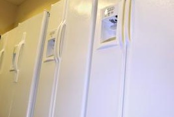 Refrigerators consume more energy than any other appliance.