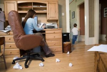 Home office equiment may not be covered by a homeowners policy.