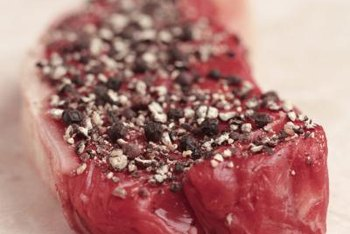 Red meat is a good source of vitamin B12.