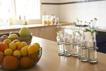 Sanitized butcher block counters won't harbor dangerous bacteria.