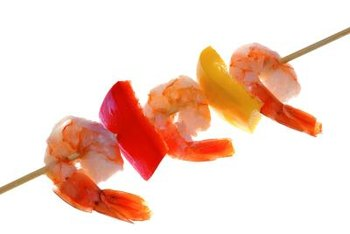 Astaxanthin is responsible for the pink color of shrimp.