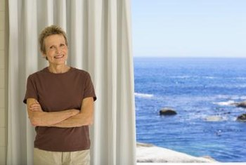 Curtains that block out UV rays can prevent premature aging of home furnishings.