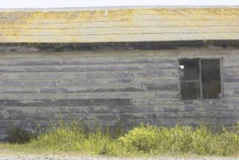 Rolled roofing is used mostly on sheds and other outbuildings.