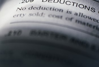 Several income deductions are available through HUD depending on your household composition.