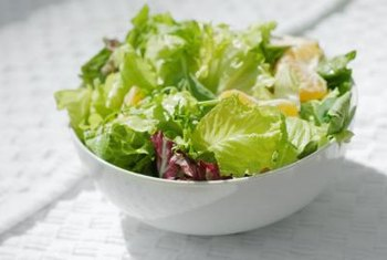Salads can be a great low-carb option when you are eating away from home.