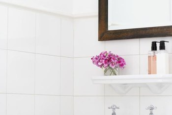 A Mirror Frame Gives Your Bathroom More Finished Appearance
