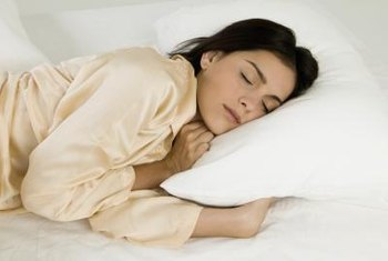Side sleepers require larger pillows than back or stomach sleepers.