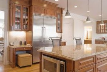 Make The Most Of The Space Created By High Ceilings In Your Kitchen.