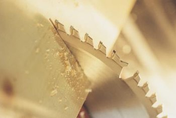 Circular saw blades do less damage to the underside of the wood you're cutting.
