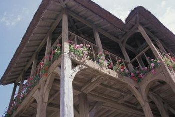 You can finish porch beams different ways for design aesthetics.