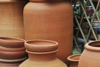 Terra-cotta colors range from pink to deep, toasty orange.