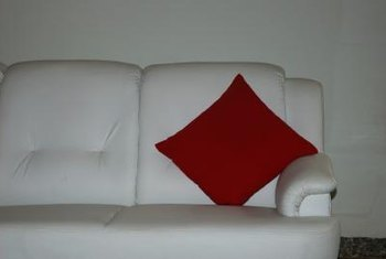 Red Looks Particularly Vibrant Against Pale Gray.