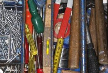 A basic home tool kit should have everything you need for this repair.