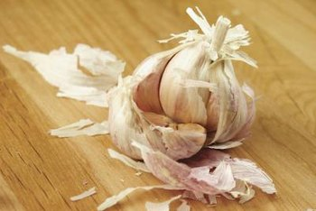 Soak your seeds in garlic water before planting them to defend against fungus problems.
