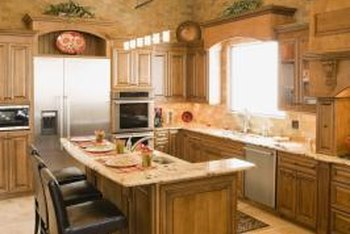 Earth Tones Are A Hot Item In Contemporary Kitchens