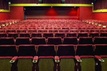 Movie theaters hold a fascination for young children.