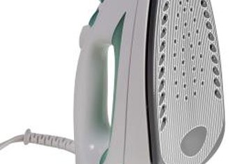 Use a steam iron for tough creases.