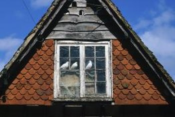 Weatherproof your attic windows at the same time you do the doors.