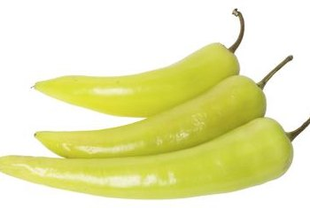 Banana peppers are ready to eat when they turn light green, but let them turn red before you harvest the seeds.